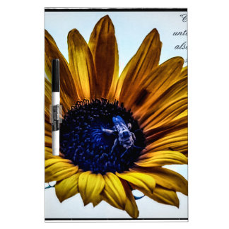 grannys-sunflower dry erase board