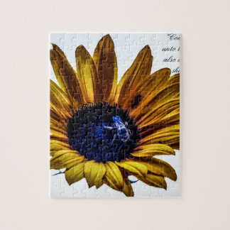 grannys-sunflower jigsaw puzzle