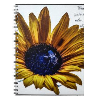 grannys-sunflower notebook