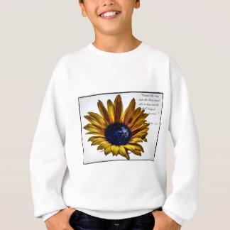 grannys-sunflower sweatshirt