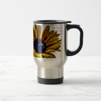 grannys-sunflower travel mug
