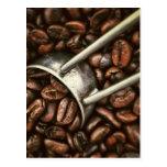 Grano de café postal