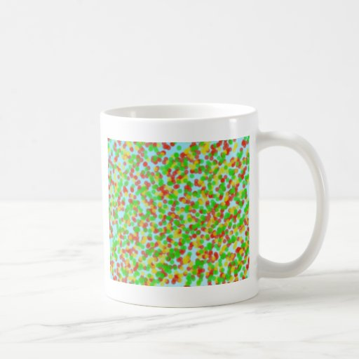 grano de la arena colorido tazas