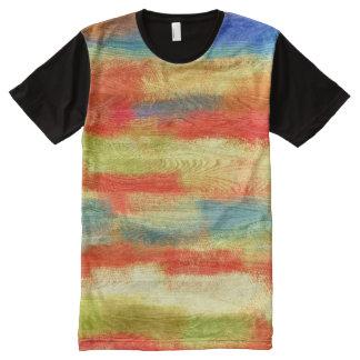 Grano de madera abstracto colorido