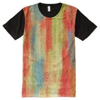 Grano de madera abstracto colorido #2