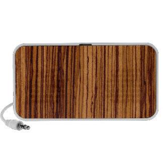 Grano de madera mini altavoz