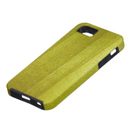 Grano de madera del álamo iPhone 5 carcasa