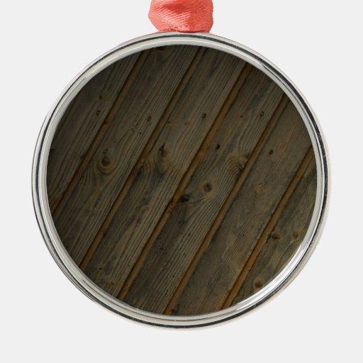 Grano de madera falso abstracto adorno