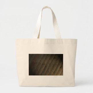 Grano de madera falso abstracto bolsa de mano