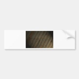 Grano de madera falso abstracto etiqueta de parachoque