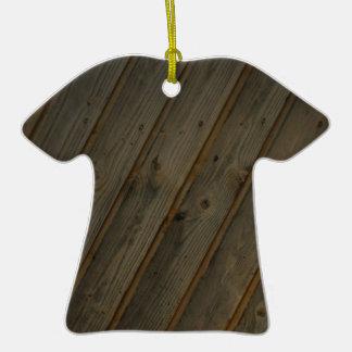 Grano de madera falso abstracto adorno para reyes