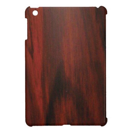 Grano de madera iPad mini cobertura