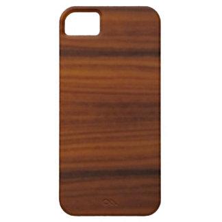 grano de madera iPhone 5 fundas