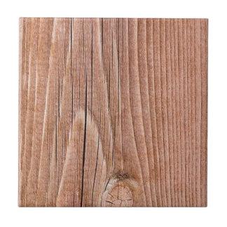 Grano de madera levemente resistido nudoso azulejo cuadrado pequeño