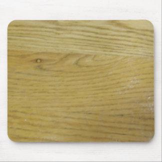 Grano de madera mouse pads