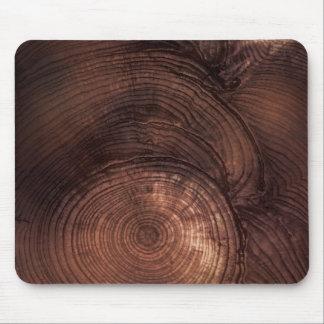 Grano de madera Mousepad de la secoya Alfombrilla De Ratón