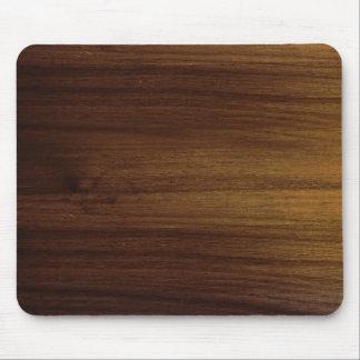 Grano de madera MousePad del acacia Alfombrillas De Ratones