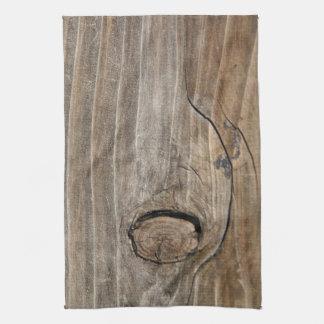 Grano de madera natural toallas de cocina
