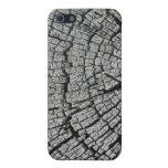 Grano de madera resistido - iPhone 5 protectores