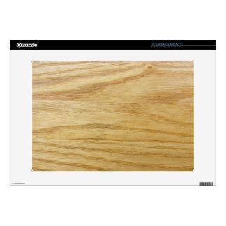 Grano de madera skins para portátiles