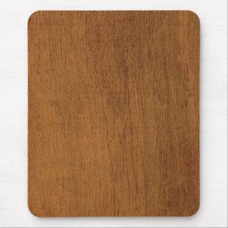 Grano de madera tapetes de raton