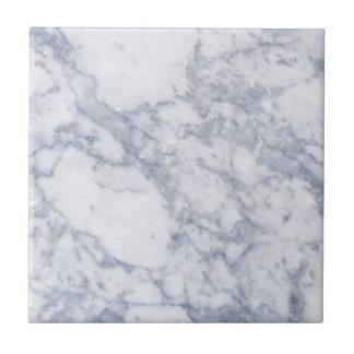 Grano de piedra de mármol blanco/textura azulejo cuadrado pequeño