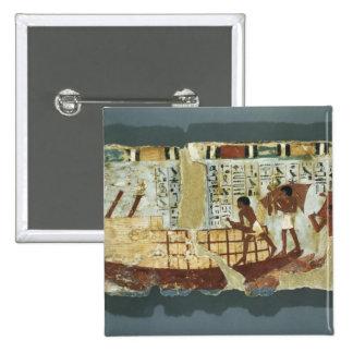 Grano del cargamento, de la tumba de Unsou, del es Pin Cuadrado
