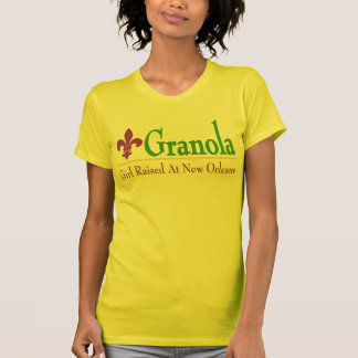 Granola: Chica criado en New Orleans Camiseta