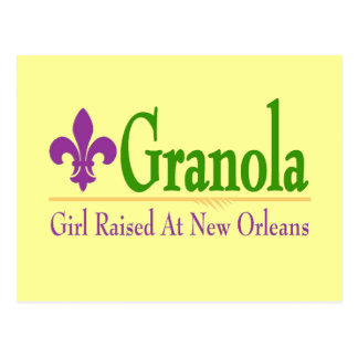 Granola, chica criado en Nola Tarjetas Postales