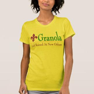 Granola: Girl Raised At New Orleans T-Shirt