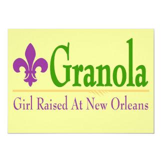 Granola, Girl Raised At NOLa Card