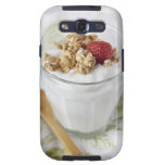 Granola, Oats, Toasted, Fruit, Berry, Raspberry, Galaxy SIII Case