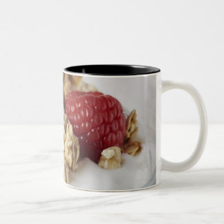 Granola, Oats, Toasted, Fruit, Berry, Raspberry, Two-Tone Coffee Mug