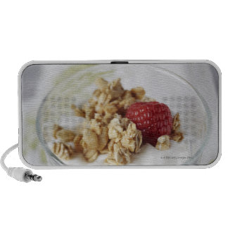Granola, Oats, Toasted, Fruit, Berry, Raspberry, Travel Speakers