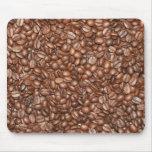 Granos de café alfombrilla de ratón
