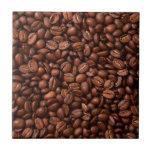 Granos de café azulejo