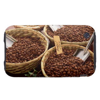 Granos de café carcasa resistente para iPhone