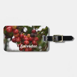 Granos de café de El Salvador Etiquetas Bolsas