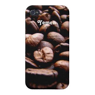 Granos de café de Yemen iPhone 4 Protector