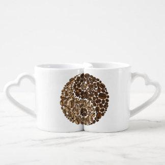 Granos de café de YinYang Tazas Amorosas