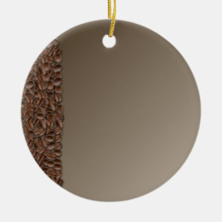 Granos de café adorno de navidad