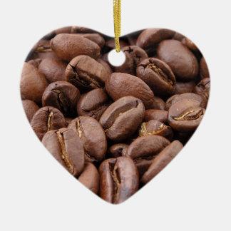Granos de café ornamentos de reyes