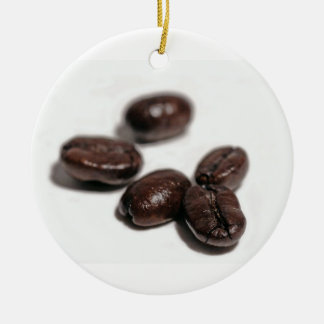 Granos de café adorno de reyes