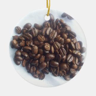 Granos de café ornamentos de reyes magos