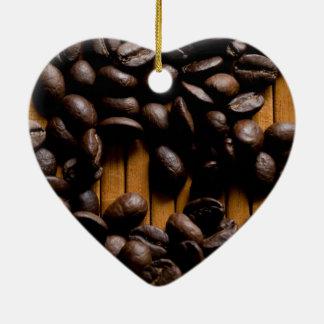 Granos de café ornamento para reyes magos