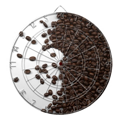 Granos de café derramados