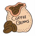 granos de café esculturas fotograficas