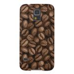 Granos de café funda de galaxy s5