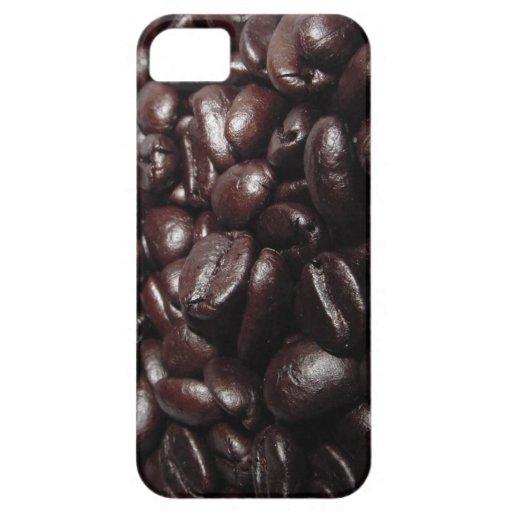 Granos de café funda para iPhone SE/5/5s