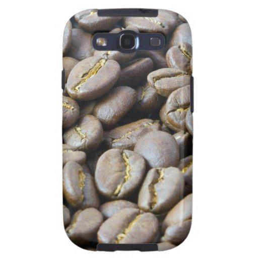 granos de café galaxy s3 fundas